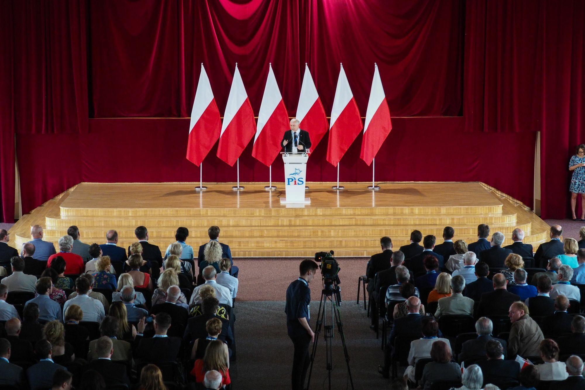 Wystąpienie Jarosława Kaczyńskiego