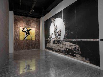 Wystawa prac Banksy`ego w Centrum Praskim Koneser