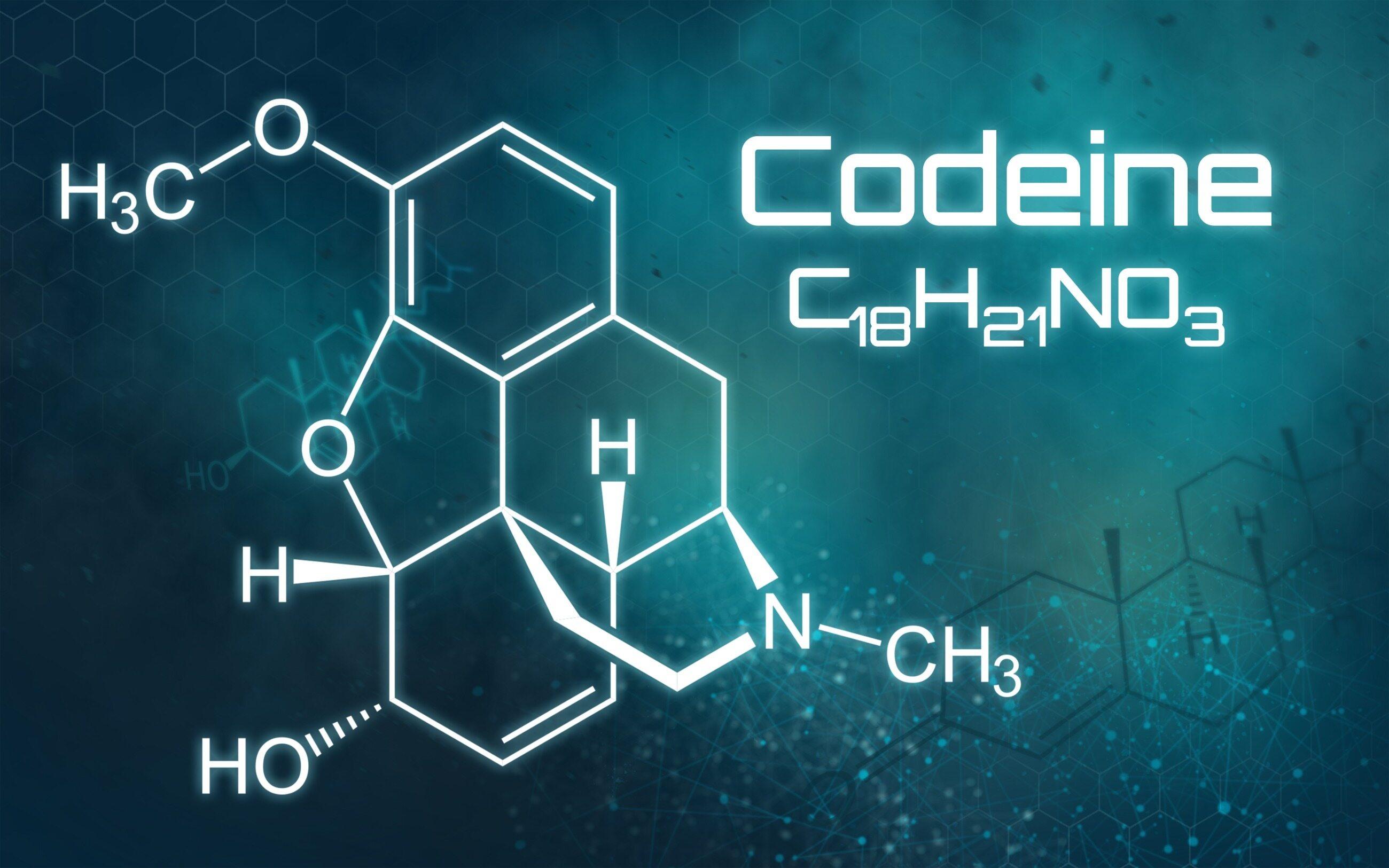 Wzór chemiczny kodeiny