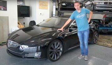 YouTuber i jego Tesla Model S