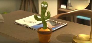 Zabawka kaktusa sprzedawana na Tajwanie