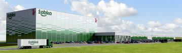 Żabka Centrum logistyczne k. Radzymina pod Warszawą - Wizualizacja