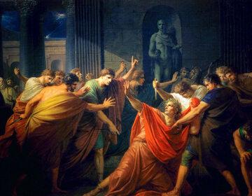 Zabójstwo Juliusza Cezara
