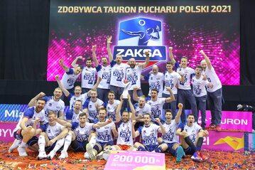 ZAKSA Kędzierzyn-Koźle w Pucharze Polski