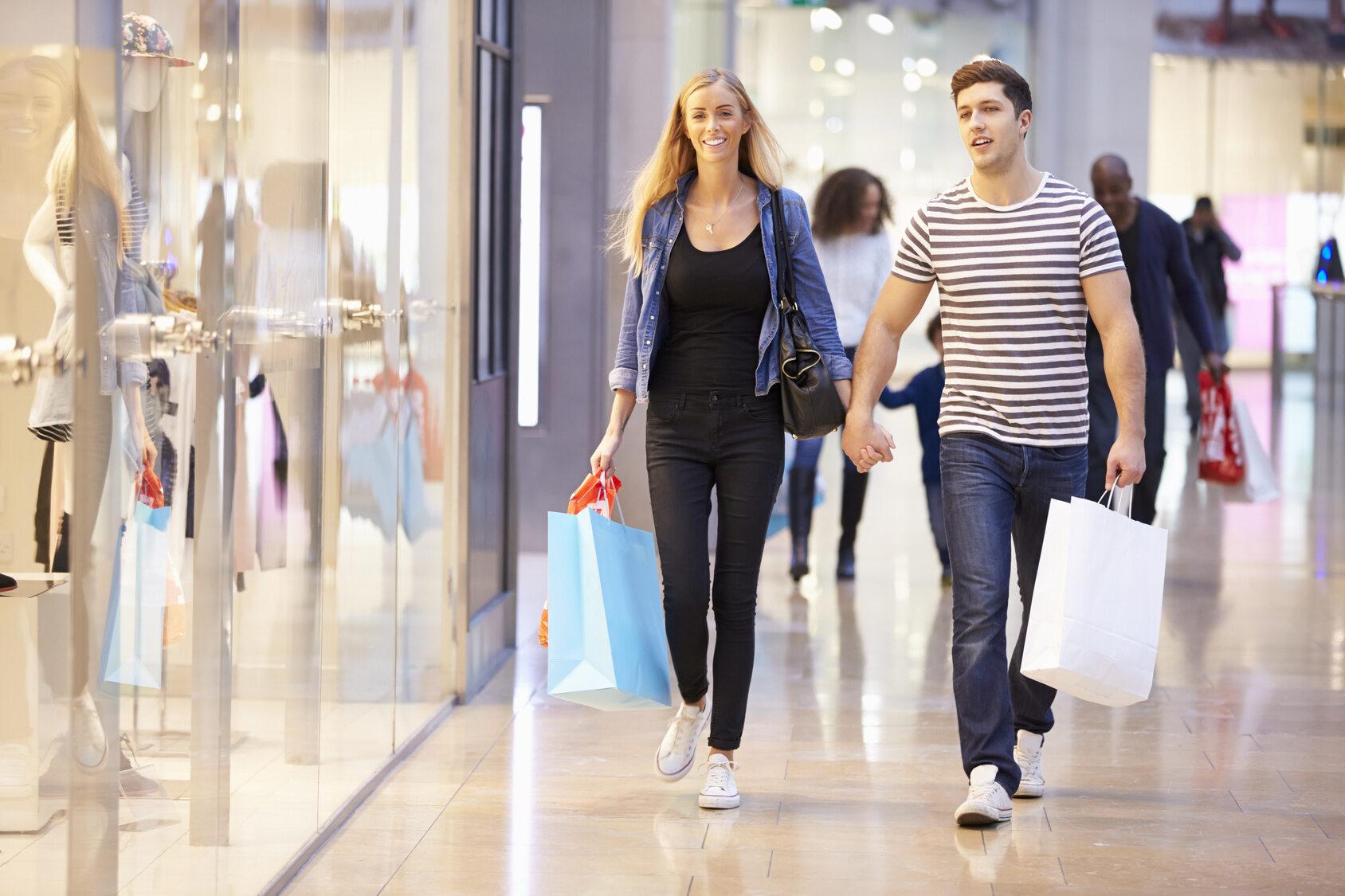 zakupy, centrum handlowe (zdj. ilustracyjne)