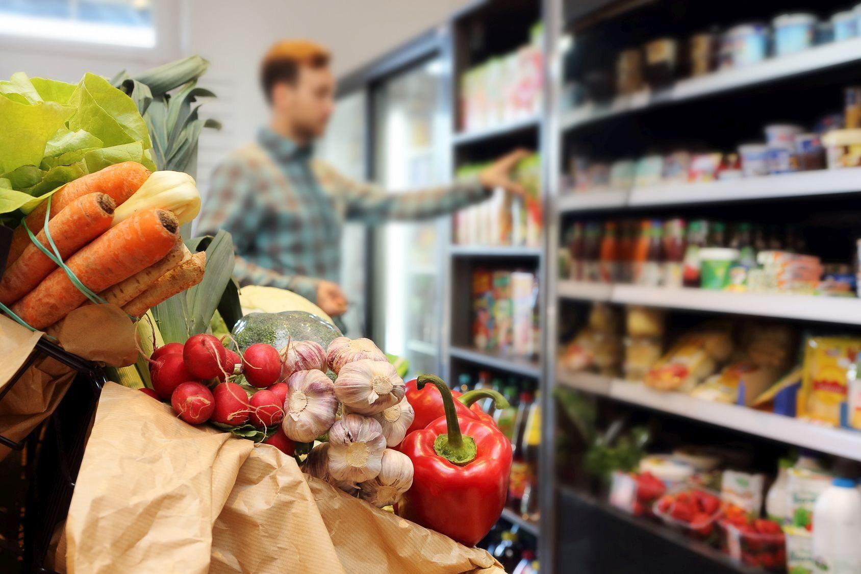 Zakupy w sklepie samoobsługowym