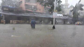 Zalane ulice Mumbaju