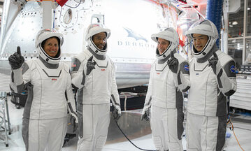 Załoga misji Crew-1