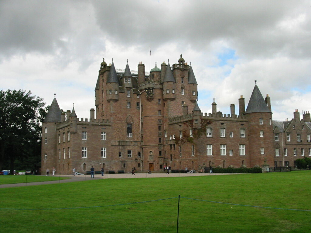 Zamek Glamis w Angus
