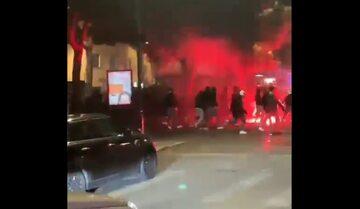 Zamieszki kibiców we Włoszek
