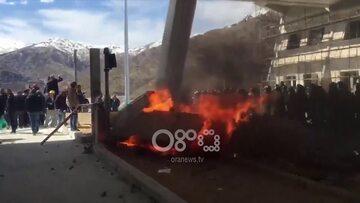 Zamieszki na albańskiej autostradzie