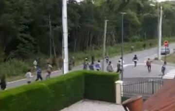 Zamieszki w Calais