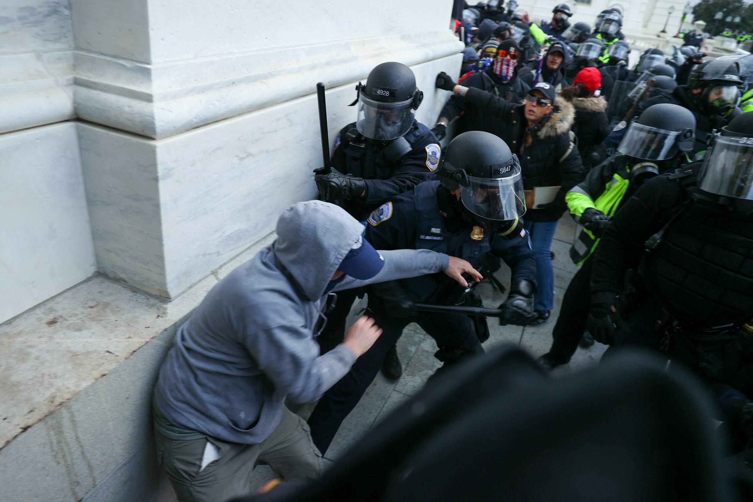 Zamieszki w Waszyngtonie