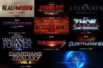 Zapowiadane na kolejne lata tytuły z Marvel Cinematic Universe
