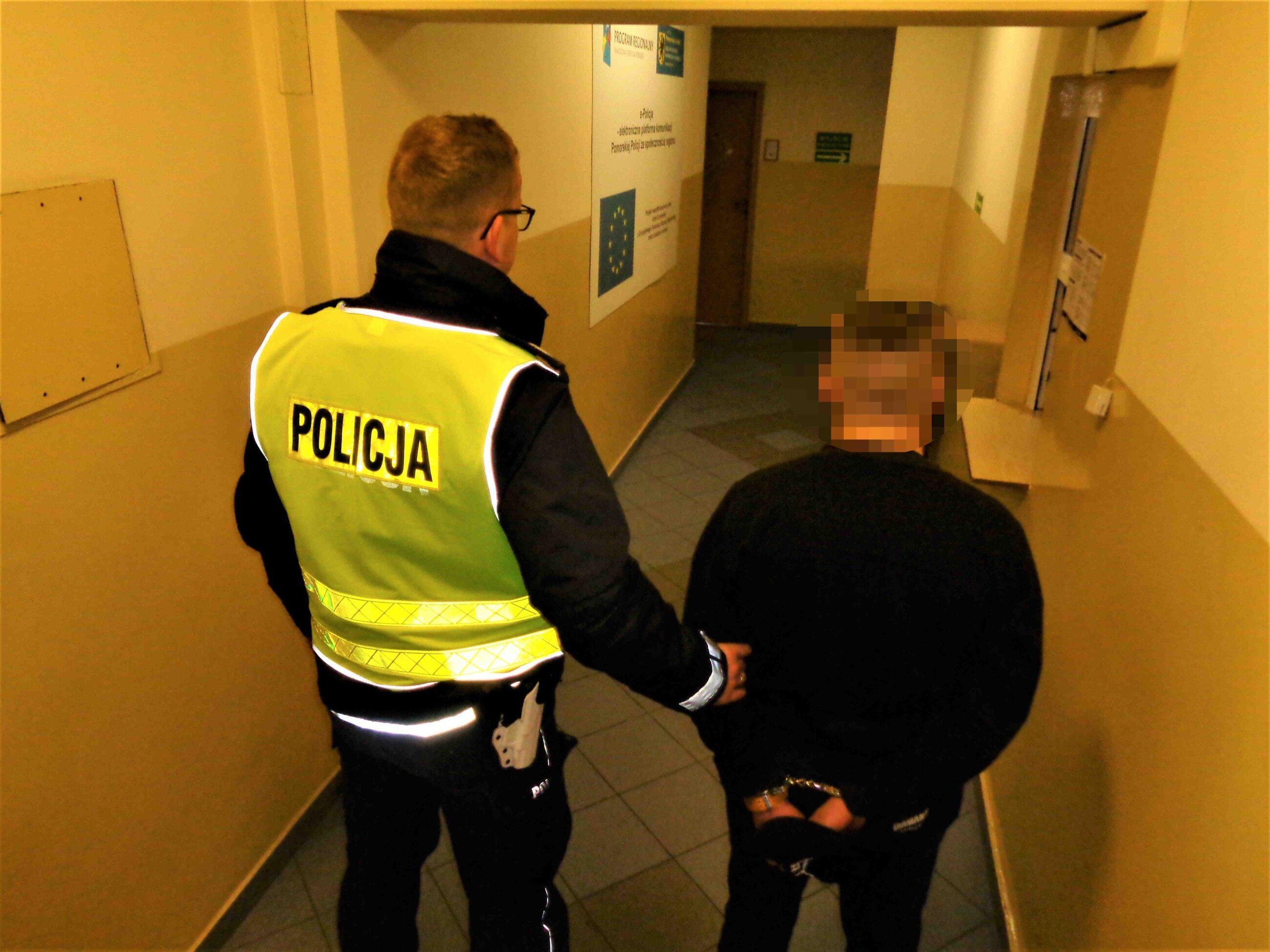 Zatrzymani złodzieje mają po 19 i 20 lat