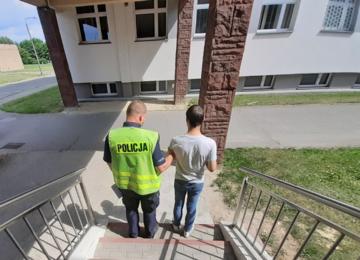 Zatrzymanie 21-latka z Łodzi