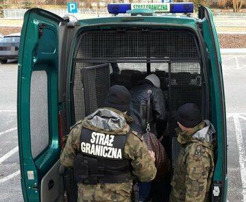 Zatrzymanie dokonane przez Straż Graniczną