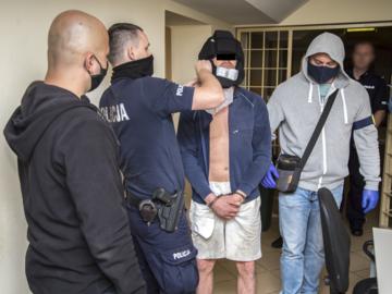Zatrzymanie mężczyzny podejrzewanego o posiadanie narkotyków i uszkodzenie ciała