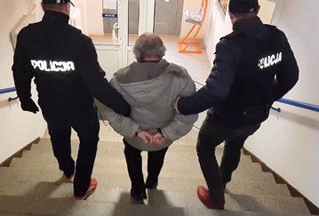 Zatrzymany przez policję