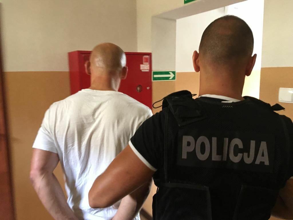 Zatrzymany złodziej w Słupsku