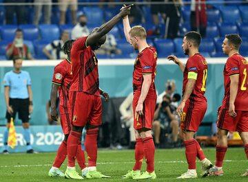Zawodnicy reprezentacji Belgii