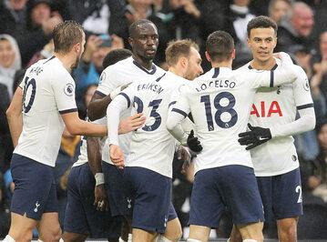 Zawodnicy Tottenhamu Hotspur
