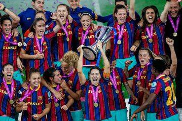 Zawodniczki Barcelony Femini