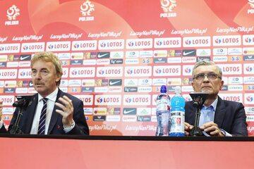 Zbigniew Boniek i Adam Nawałka