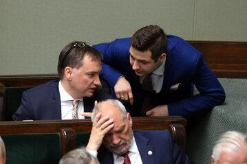 Zbigniew Ziobro, Patryk Jaki, Antoni Macierewicz