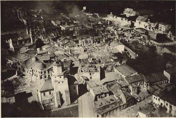 Zbombardowany Wieluń