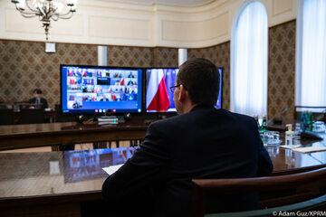 Zdalne posiedzenie Rady Ministrów
