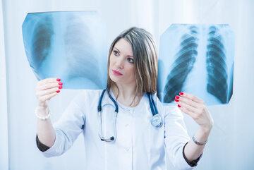Zdjęcia rentgenowskie (RTG) klatki piersiowej