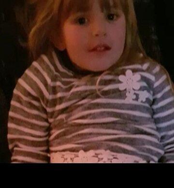 Zdjęcie dziewczynki udostępnione przez Federalną Policję Kryminalną Niemiec
