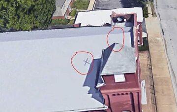 Zdjęcie z Google Maps opublikowane przez Wojciecha Cejrowskiego