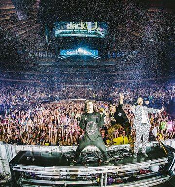 Zdjęcie z koncertu Skrillexa