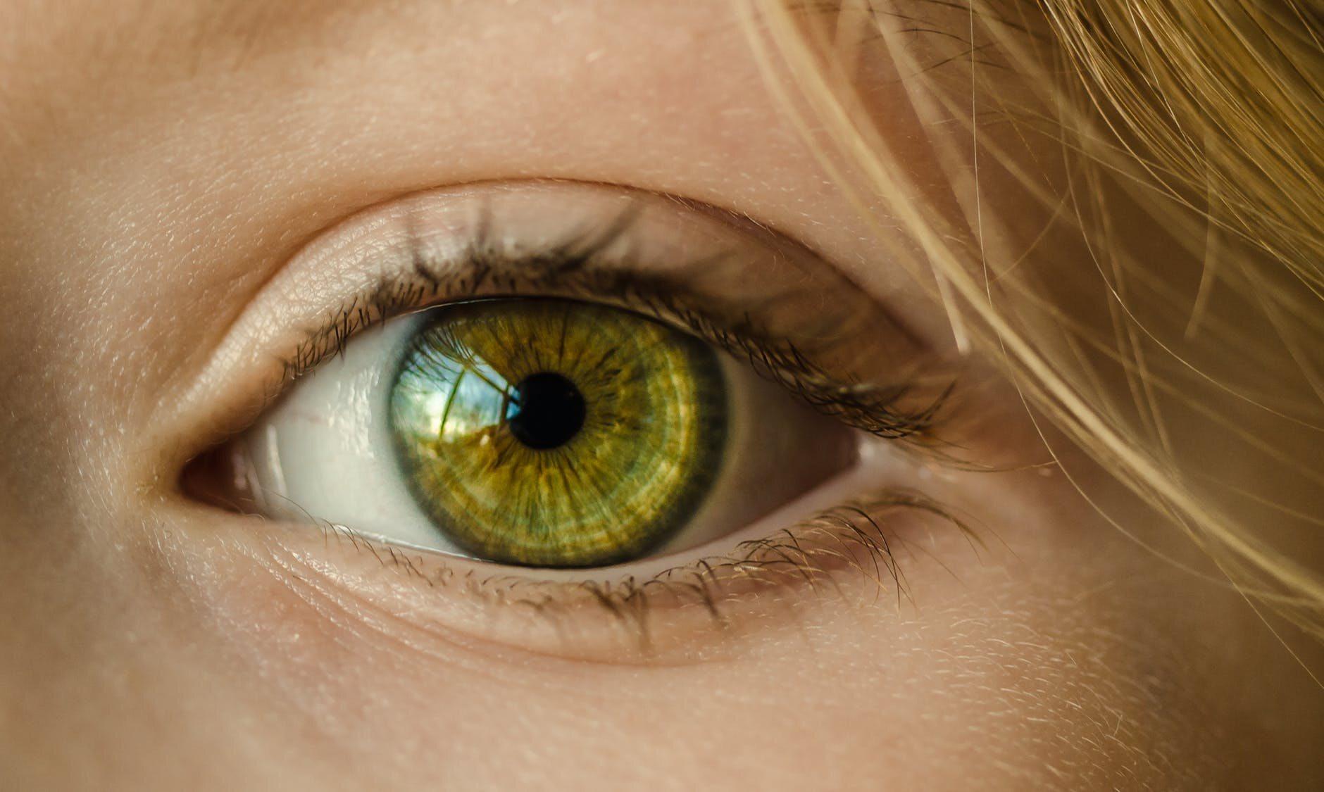 Zielone oczy, zdjęcie ilustracyjne