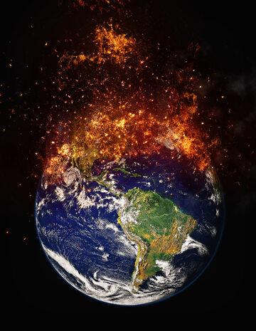 Ziemia, apokalipsa, zdj. ilustracyjne