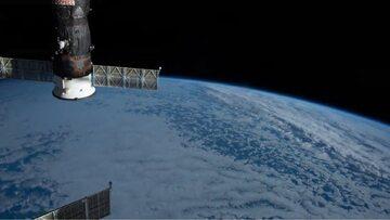 Ziemia widziana z Międzynarodowej Stacji Kosmicznej