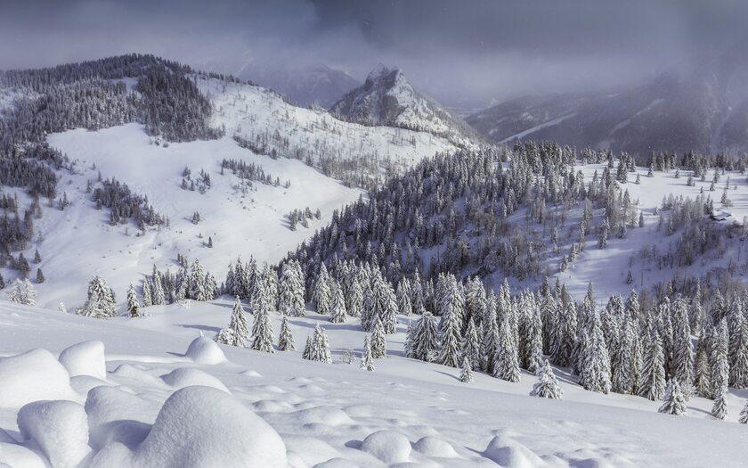 Zima, śnieg, zdjęcie ilustracyjne
