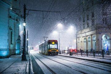 Zima w mieście, zdj. ilustracyjne
