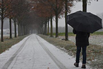 Zimowa pogoda, zdjęcie ilustracyjne