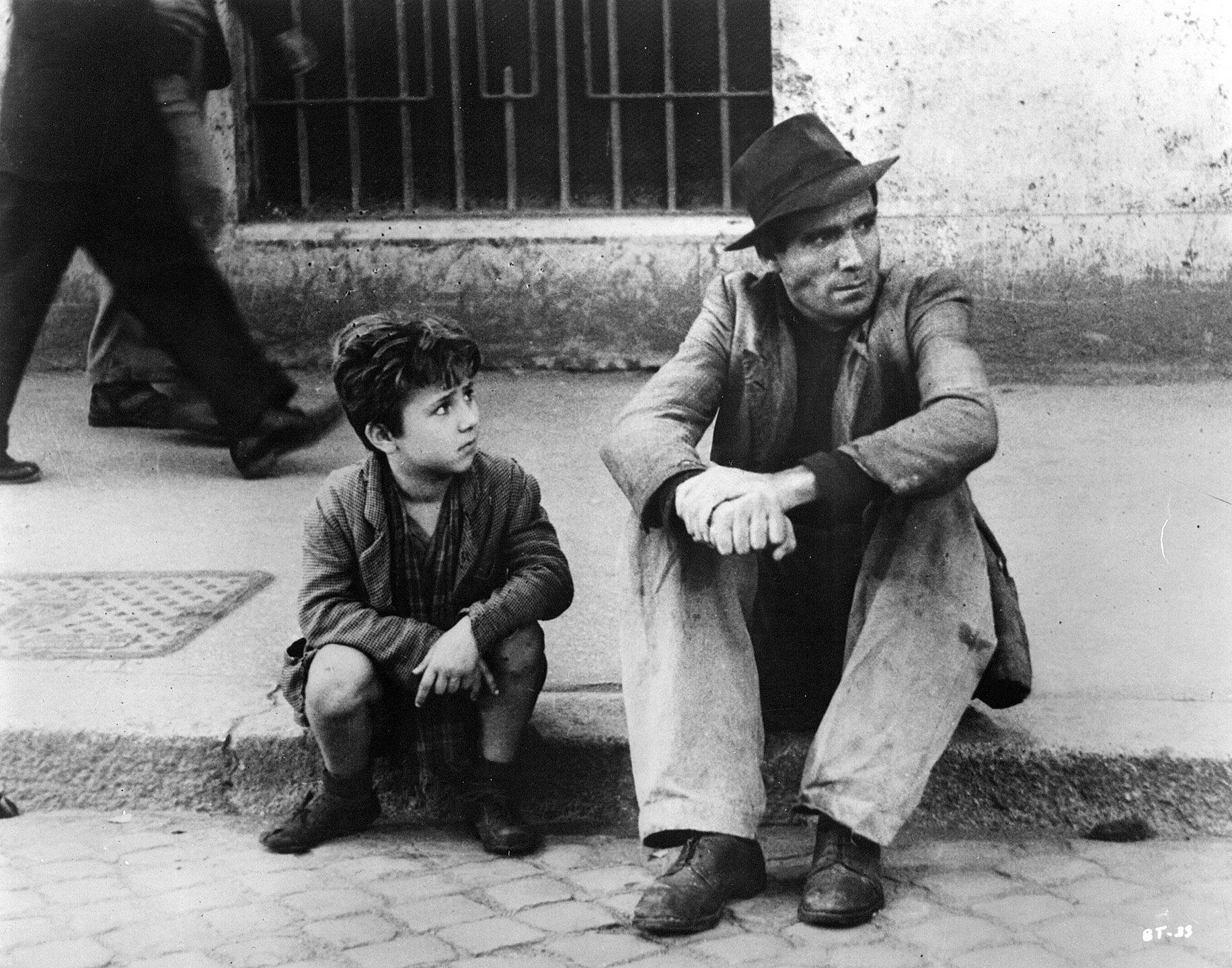 """""""Złodzieje rowerów"""" / """"Ladri di Biciclette"""" (1948)"""