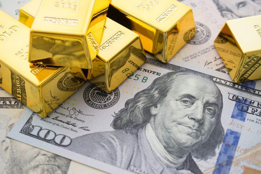 Złoto i dolar