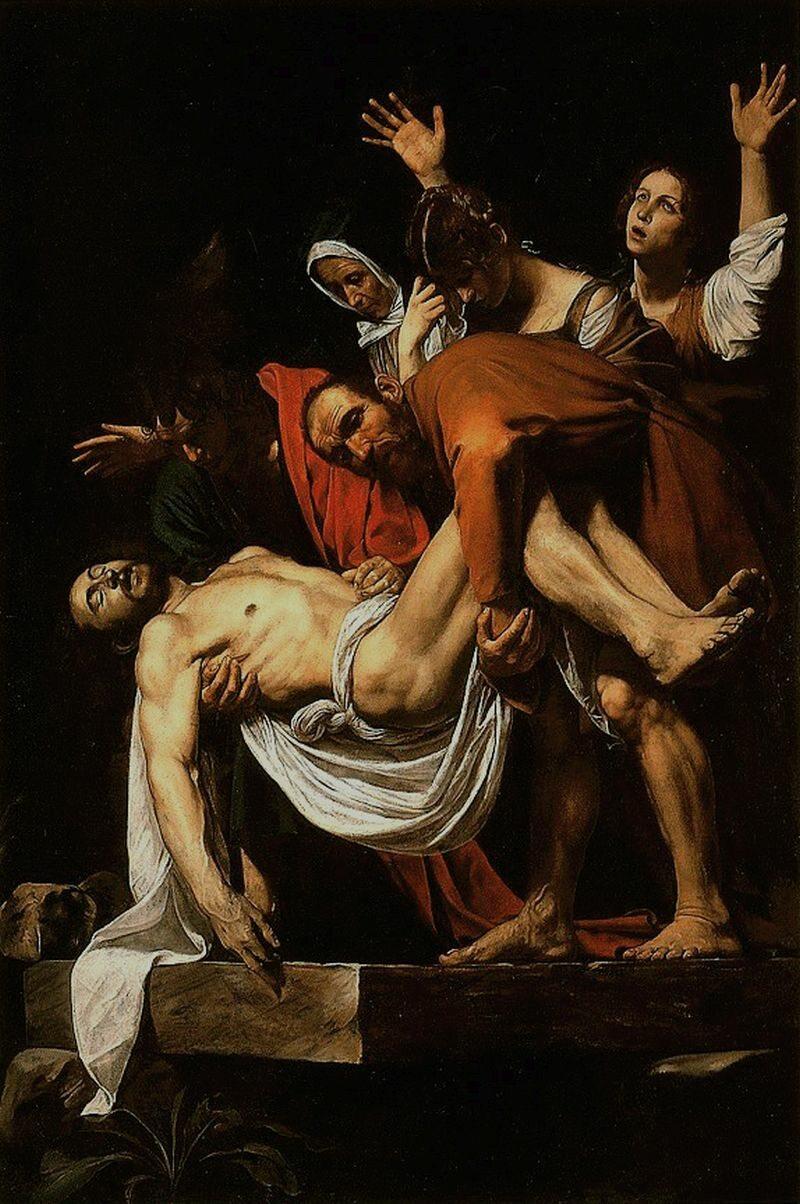 Złożenie Chrystusa do grobu
