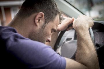 Zmęczony kierowca