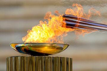 Znicz olimpijski, zdjęcie ilustracyjne