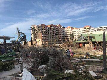 Zniszczenia na St. Maarten