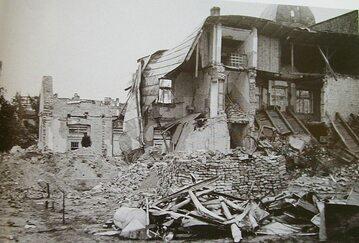 Zniszczenia w Wieluniu z 1939 roku