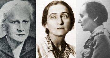 """Zofia Franio ps. """"Doktór"""" / Władysława Macieszyna / Wanda Gertz ps. Lena"""