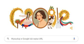 Zofia Stryjeńska upamiętniona w Google Doodle